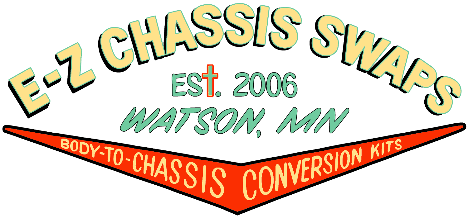 E Z Chassis Swaps 1949 Chevy Truck Engine Swap Complete Conversion Kits For Vintage Pickup Trucks